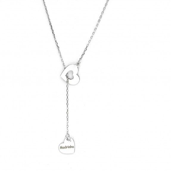 Double Heart Necklace - Godmother