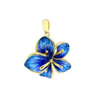Medalha Orquidea Azul