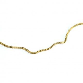 Pulseira Ouro 9kts - Malha Barbela