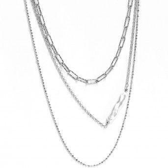Colar Triplo - Pearl