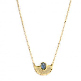 Colar Dourado Egipto Blue