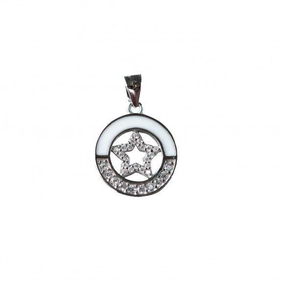 Medalha Esmalte C/Estrela