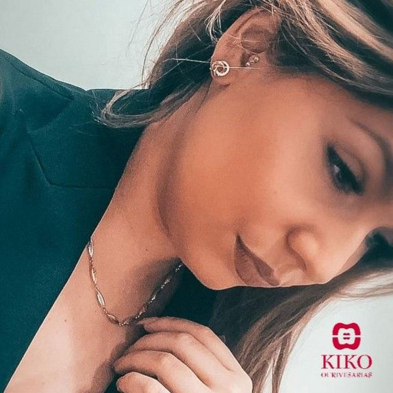 Colar Ouro Pipos 19k