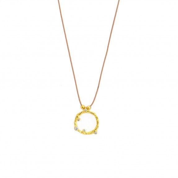 Golden Trunk Necklace with Wire - Exclusive Kiko