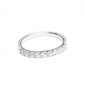 Anel Ouro 18kts C/Diamantes - Prometo