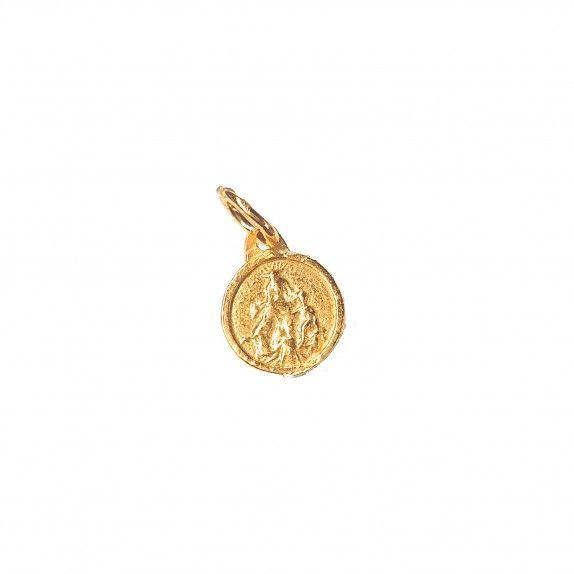 Medalha Coração de Jesus&N.Sra do Carmo