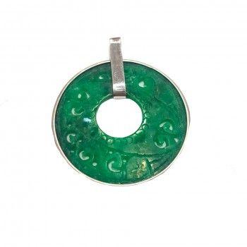 Medalha Pedra Jade