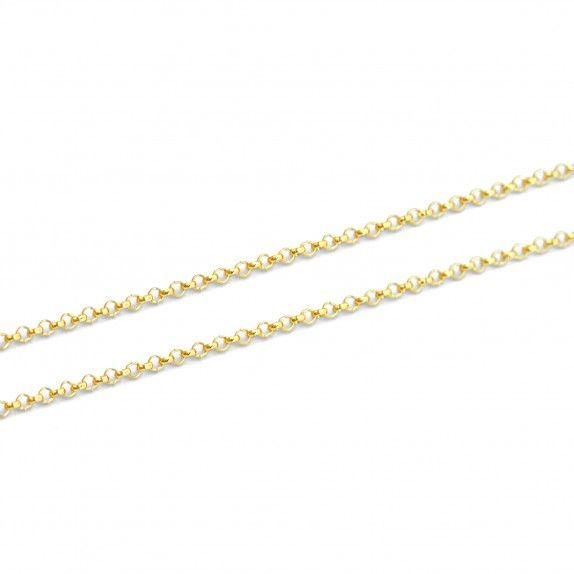 Fio Dourado Cadeado 45cm