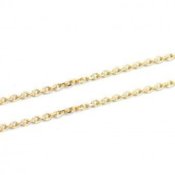 Fio Dourado Cadeado 40cm