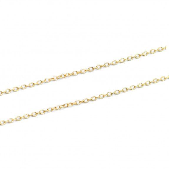 Fio Dourado Cadeado 42cm
