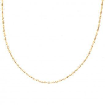 Fio Dourado Cauda de Rato Redondo 40cm