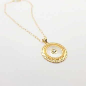 MEDALHA OURO 19KT - GLAMOUR