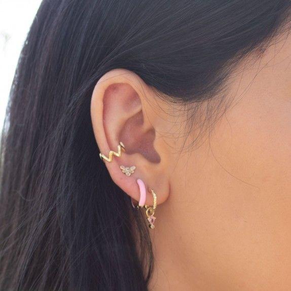 Argolas Douradas - Pedra Rosa